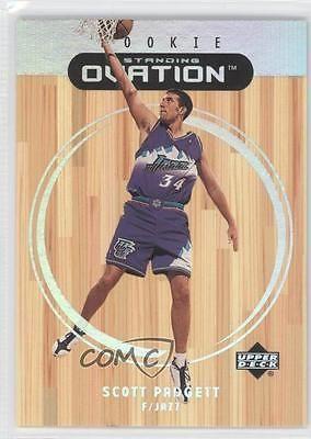 1999-00 Upper Deck Ovation Standing #87 Scott Padgett Utah Jazz Basketball Card