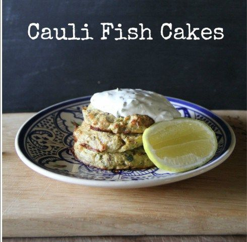 Cauliflower saves the day in these low carb fish cakes for How many carbs in fish