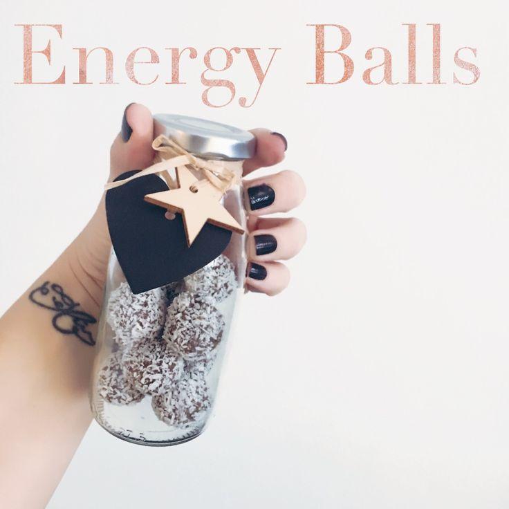 Energy balls, energiebällchen, engergy bits, gesund und lecker, grinsestern feel good, grinsestern rezept, rezept, diy
