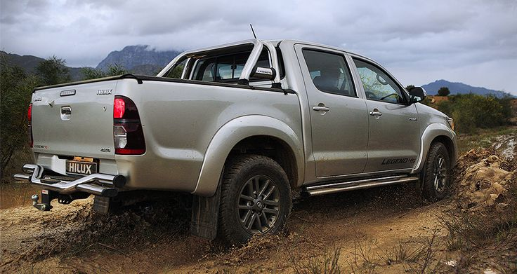 New #Toyota #Hilux #Legend45  - Hard-wearing, Hard-working and Adventure loving.