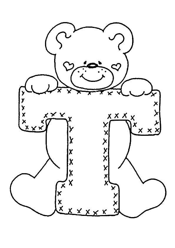 Buchstaben T Ausdrucken Stickerei Alphabet Stickereimuster Stickbuchstaben