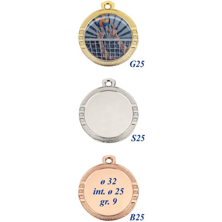 N° 100 Medaglie personalizzate € 1,05 cad. + IVA