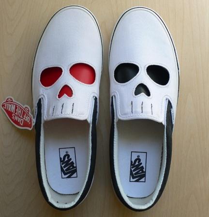 Killer CustomsFashion, Style, Crazy Shoes, Clothing, Custom Shoes, Skull Shoes, Design Art, Halloween, Skull Vans