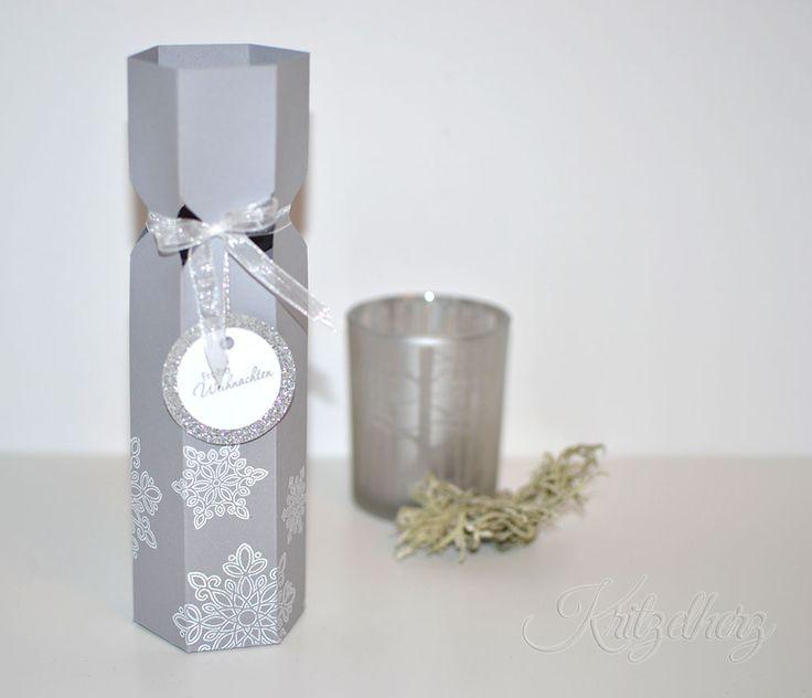 Flaschenverpackung, Verpackung, Stampin' Up!, Weihnachten, Workshop, Linz, Envelope Punch Board