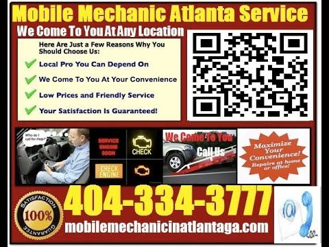 Mobile Auto Mechanic Atlanta 404-334-3777 or http://mobilemechanicinatlantaga.com/