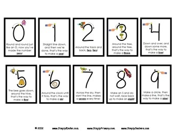 Free Printable Number Worksheets