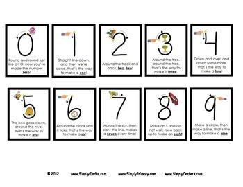 Number Poems & Snap Cube Freebie! - Simply Kinder