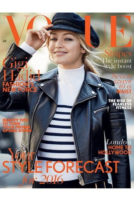 Gigi Hadid - Patrick Demarchelier - January 2016 issue
