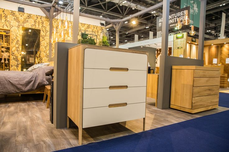 Cream chest of drawers in the Grand Interiors section of the show
