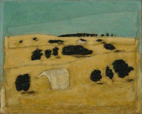 Josef Šíma - Krajina v Brie