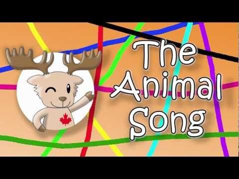 Engels liedje voor kleuters; The Animal Song