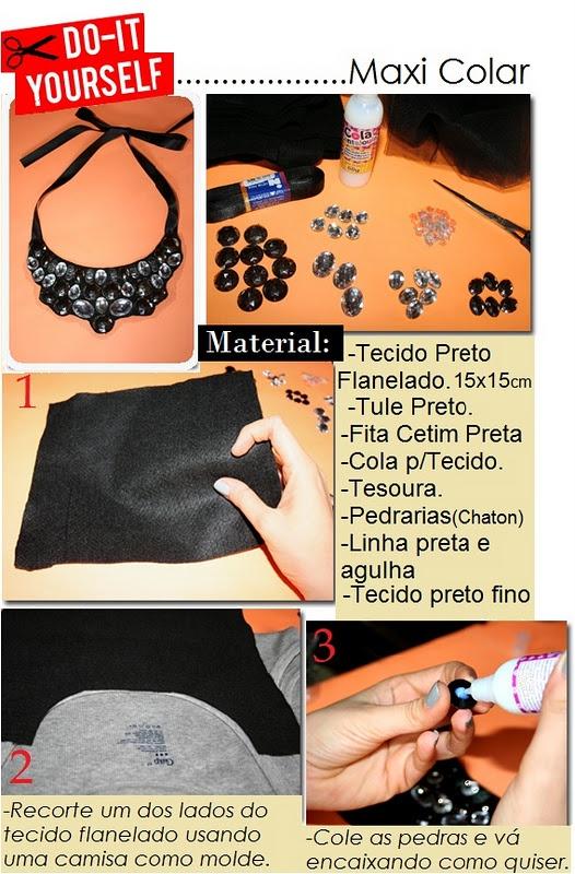 DIY maxi colar