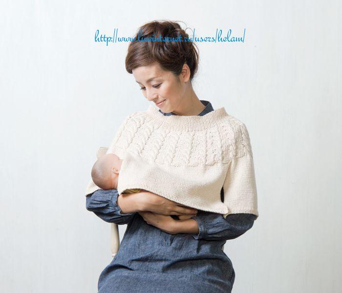 Мобильный LiveInternet Пончо для кормящей мамы из Pierrot | Juli44 - Дневник Juli44 |