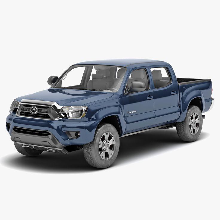 Toyota Tacoma 2012 Truck C4d - 3D Model