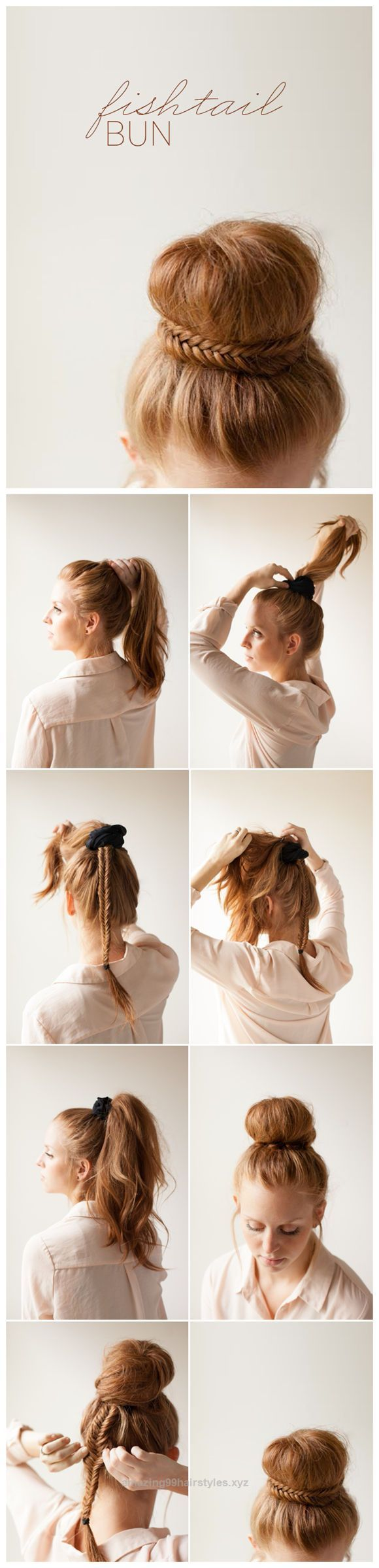 Unbelievable DIY Hairstyles: Braided Fishtail Bun Updo Tutorial  The post  DIY Hairstyles: Braided Fishtail Bun Updo Tutorial…  appeared first on  Amazing Hairstyles .
