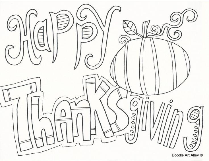 Mejores 33 imágenes de ThanksGiving Coloring Pages en Pinterest ...