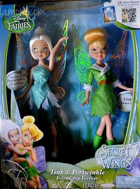 Tinkerbell & periwinkle dolls