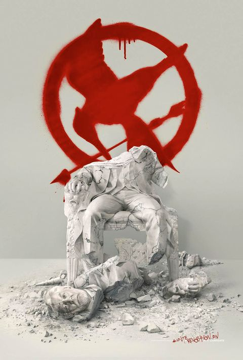 See the new Hungergames: Mockingjay - Part 2 poster.