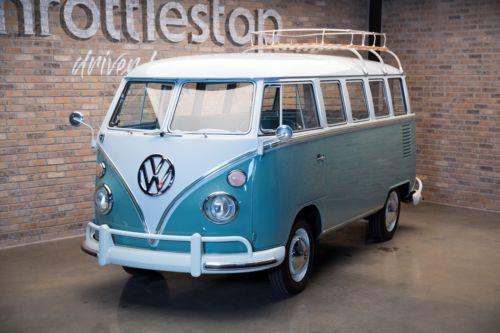 1963 Volkswagen Bus Vanagon Deluxe  Used Buses for Sale  School