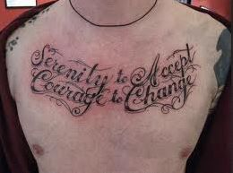 accept and change tattoo