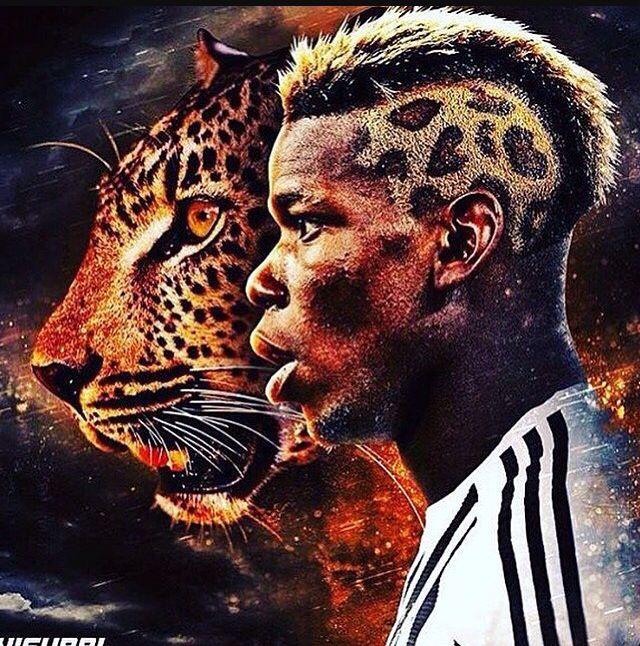 Football Hairstyles Art Players Sports Pics Wallpaper Paul Labile Pogba Sport Design Panther Neymar