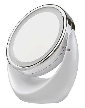 Косметическое зеркало с 5х увеличением и подсветкой Gezatone LM110
