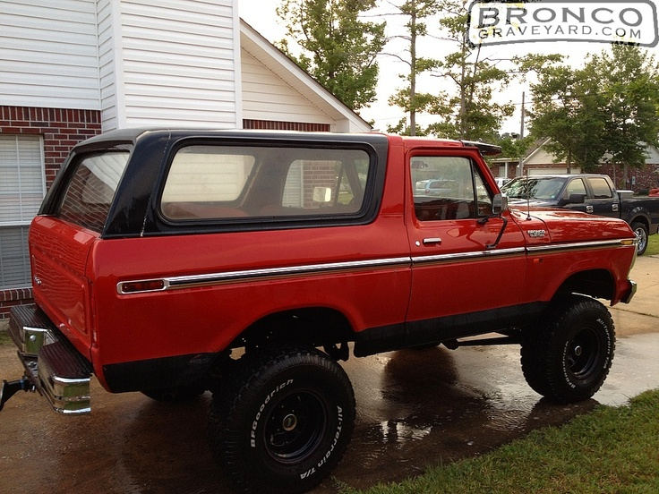 Jeff's Bronco Graveyard - Reader's Ride #16593: 1979 Ford Bronco