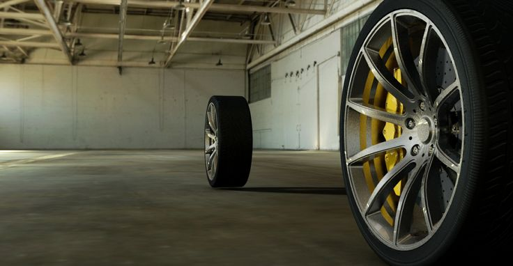 Alias automotive  rodas Mclaren MP4