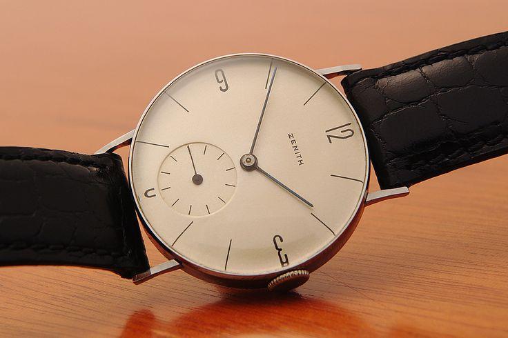 Bauhaus Zenith watch 1939. As fresh as ever