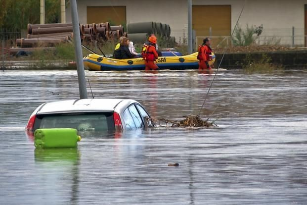 Italy declares emergency as flash floods leave 18 dead in Sardinia