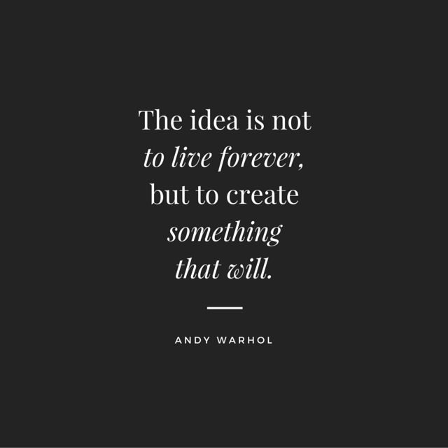 No #human can live forever, but #Ideas can....Ideas and #Art never die, neither does #memory of an #artist. #nXspot #Xfactor #WednesdayWavemaker: