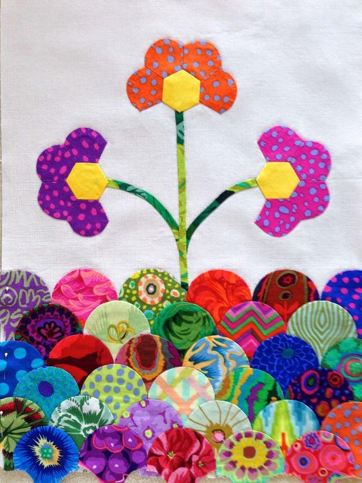 Hexagon Alley: Marmalade Quilt