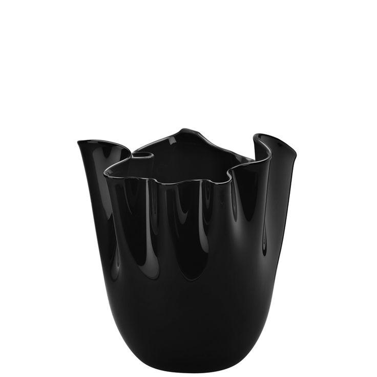 VENINI - FAZZOLETTI OPALINO - Exklusive Sonderfarbe schwarz