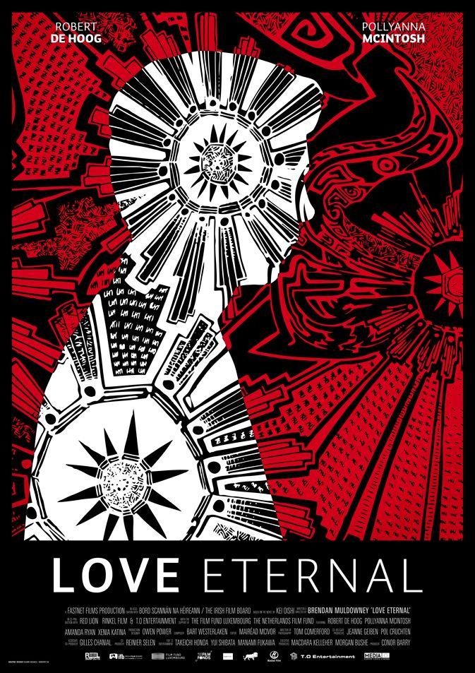 LOVE ETERNAL AFFICHE  Buro Fritz • Grafisch ontwerp