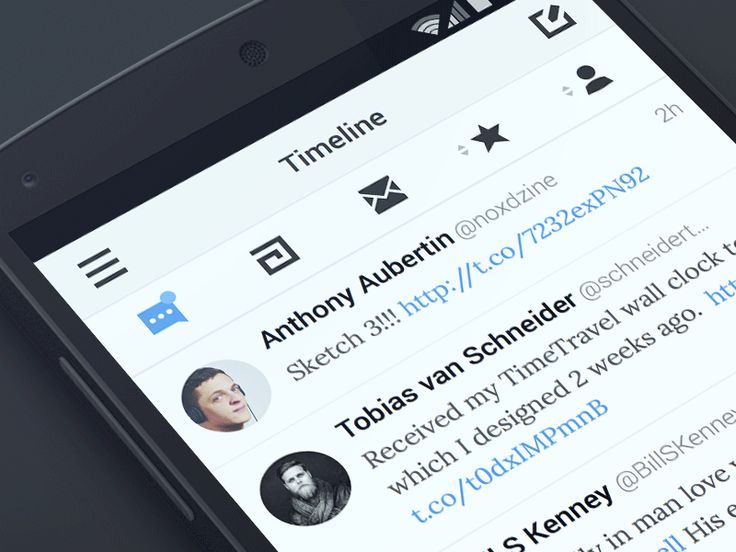 Twitter client for Android / Anthony Aubertin
