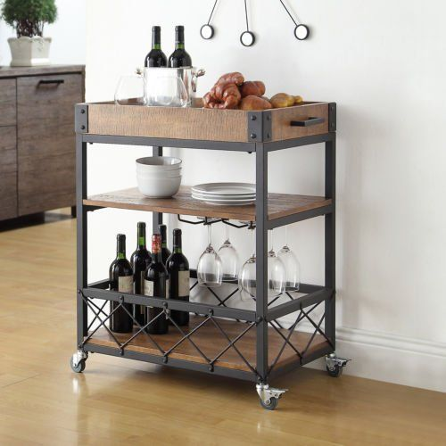 Inspirational Wine Cabinets and Bar Carts