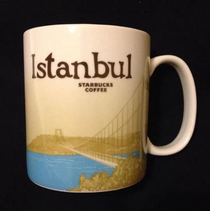 Starbucks Istanbul Global Icon Mug Turkey Collector New