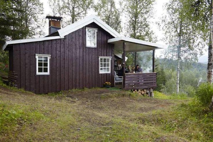 adelaparvu.com despre casa de vacanta mica din lemn, casa Norvegia, Foto Per Erik Jæger (1)