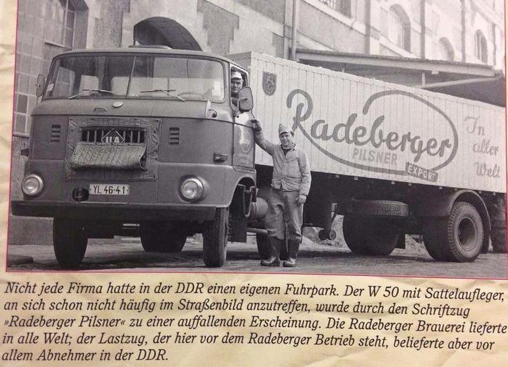 IFA W50 Auflieger