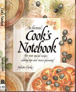 An Illustred Cooks Notebook - Sebo do Bau   Estante Virtual