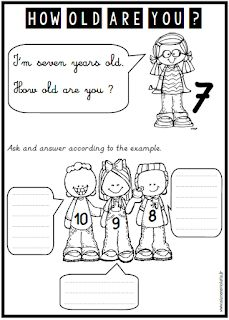 ANGLAIS : HOW OLD ARE YOU ?   Apprendre l'anglais, Anglais ...