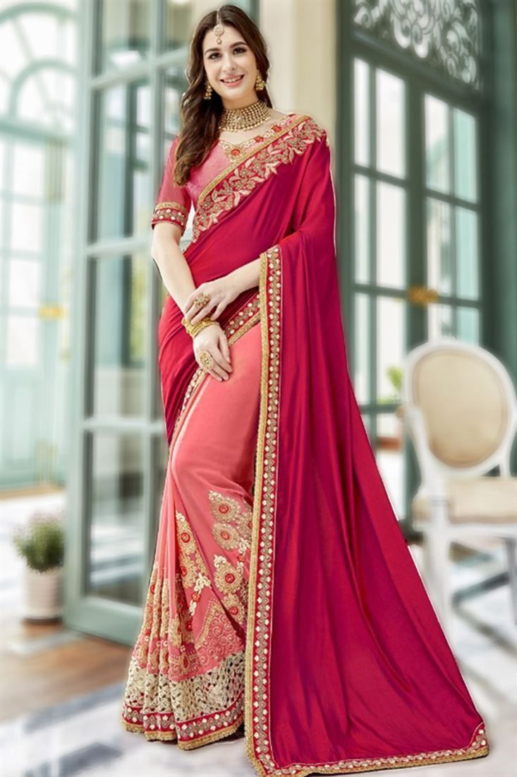 4e29715184f47 Latest Designer Indian Sarees Collection For Modern Women 2018-2019 ...