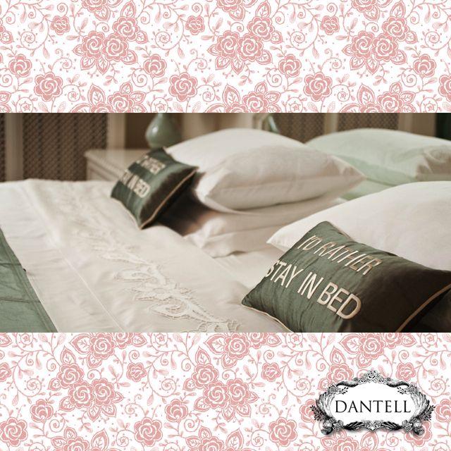 Yataktan çıkmak istemeyeceğiniz yatak örtüleri ve yastık kılıfları Dantell'de!