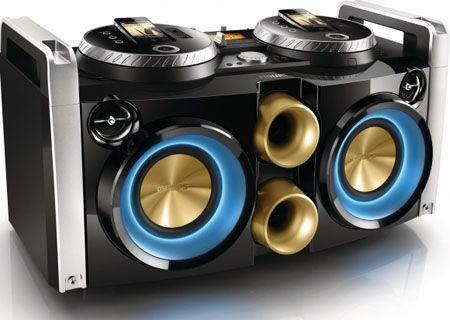 Philips FWP3200D DJ-Dock: Hi Fi System, Minis, Iphone, Fwp3200D Dj Dock, Hifi