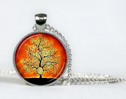 Pendant tree of life. Necklace. Gifts for her. Gifts for him.