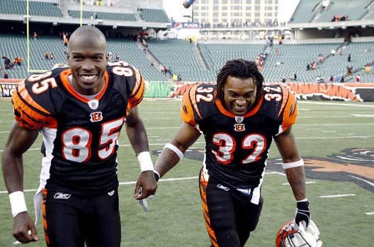 chad ochocinco football cards | Chad Ochocinco (l.) and Bengals may have reason for optimism as ...