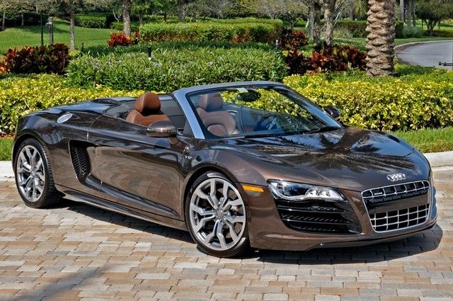 2011 Audi R8 V10 Spyder 5 2l Watch Pinterest Audi R8