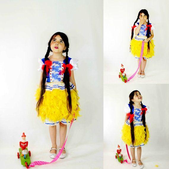 Little Dutch Girl Costume  Girls Halloween by FriolinaFancyDesigns, $100.00