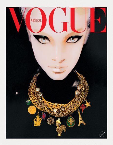 Nuno DaCosta pour Vogue Portugal - Agence Marie Bastille - Agent d'illustrateurs