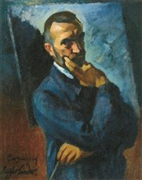 Self-portrait by Sándor Ziffer
